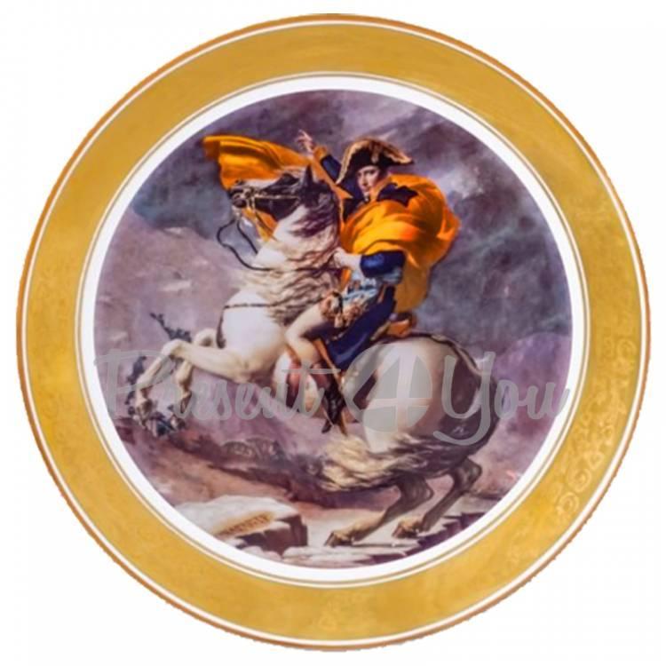 Декоративная тарелка «Наполеон» Gloria,d-32 cм (264-3203)