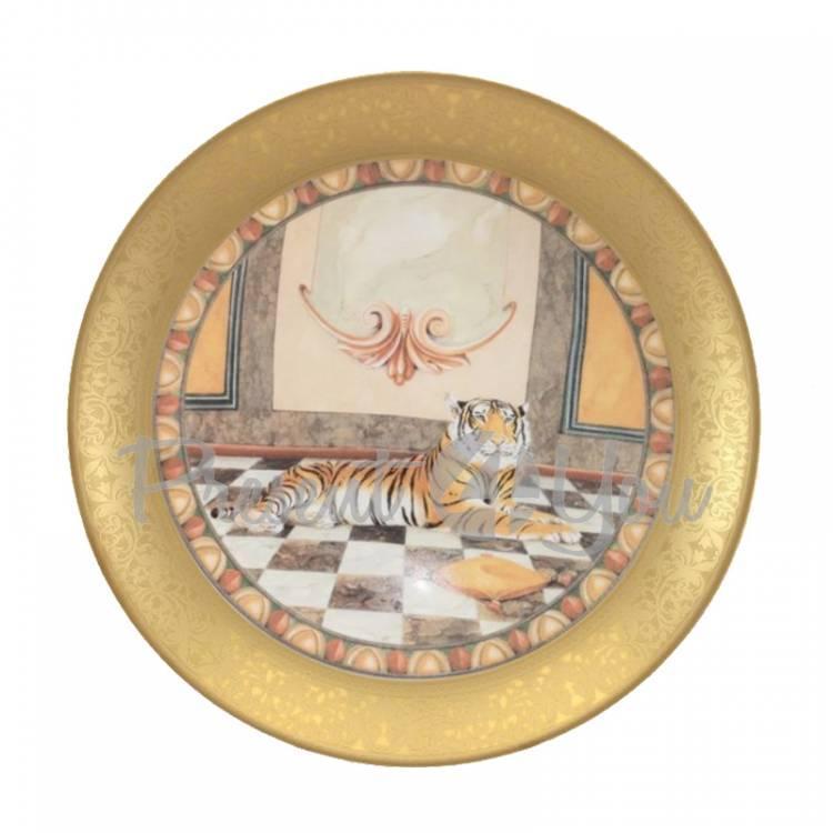 Декоративная тарелка «Тигр» Gloria,d-26 cм (264-2515)