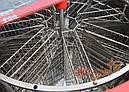 8-мі рамковий Медогонка з поворотом касет під рамку «Рута», неіржавіюча (ротор Н / Ж, з кришкою) — РЕМІННА, фото 3