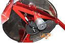 8-мі рамковий Медогонка з поворотом касет під рамку «Рута», неіржавіюча (ротор Н / Ж, з кришкою) — РЕМІННА, фото 5