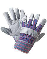 Перчатки рабочие кожа комбинированная