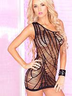 Сексуальное мини платье прозрачное, фото 1