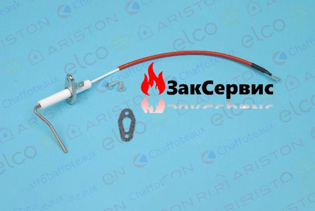 Электрод ионизации на газовый конденсационный котел Ariston EGIS Premium EVO 60001873