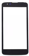 Стекло (для ремонта дисплея) LG K330 K7 (M1)/MS330 K7/LS675 Tribute 5, черное