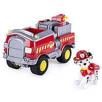 Игровой набор Paw Patrol. Marshall's Forest Fire Truck Vehicle - Figure. (Щенячий патруль. Маршалл и машинка)