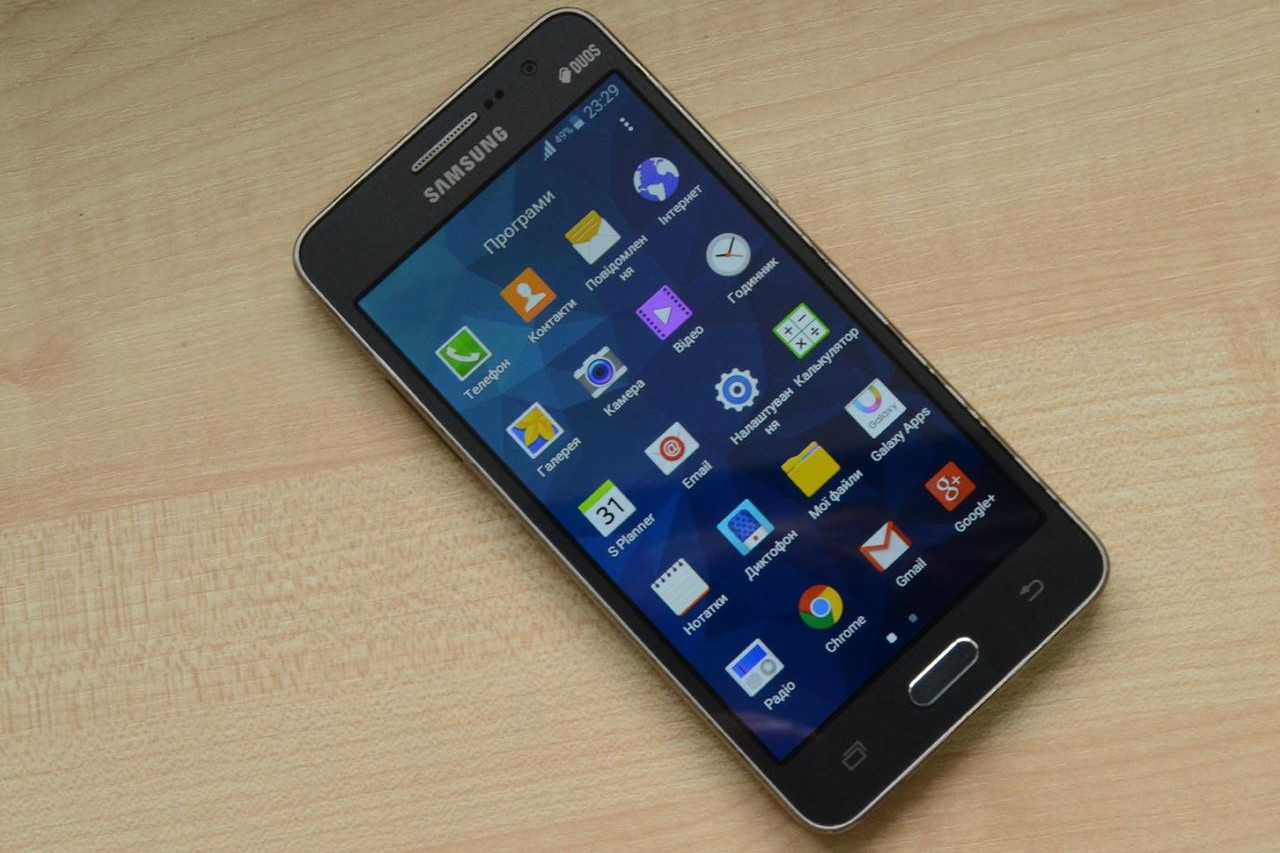 Смартфон Samsung Galaxy Grand Prime VE G531H Duos Gray Оригинал!