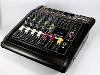 Аудио микшер Mixer BT 5200D 5ch., Микшерный пульт, Микшер, Миксовочный пульт, Стерео пульт, Микшер усилитель