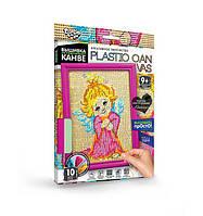 Вышивка на пластиковой канве Dankotoys PLASTIC CANVAS Ангелок PC0105, КОД: 257866