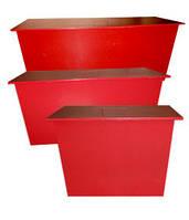 Ящик для песка (стационарный) 400х400х700