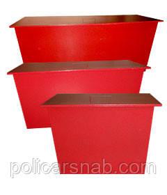Ящик для песка (стационарный) 400х400х700 - ТОВ «ПОЛІКАРСНАБ» в Житомире