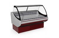 Витрина холодильная JUKA SGL 160 среднетемпературная, Выкладка 740 мм