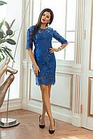 Платье женское гепюр в расцветках 27892, фото 1