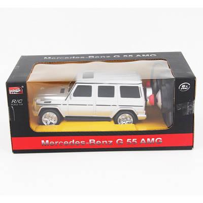 Машина на радио управлении Mercedes Benz G-55 AMG 1:24, серый