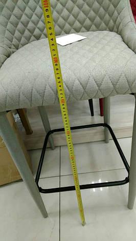 Стул барный тканевой Chicago (Чикаго) akh new, цвет серый, фото 2