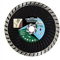 """Алмазный диск усиленный """"TURBO"""" 230мм / 22-873, 230 мм"""