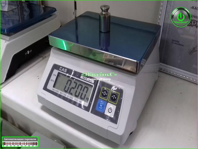 Весы фасовочные до 2, 5, 10, 20 кг – SWCAS