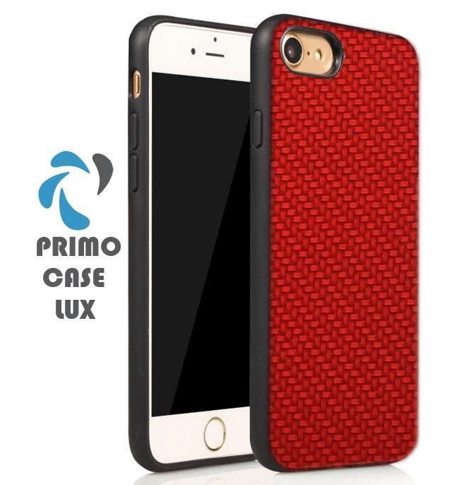 Чехол накладка Primo Case Lux для Apple iPhone 7 / iPhone 8 - Red