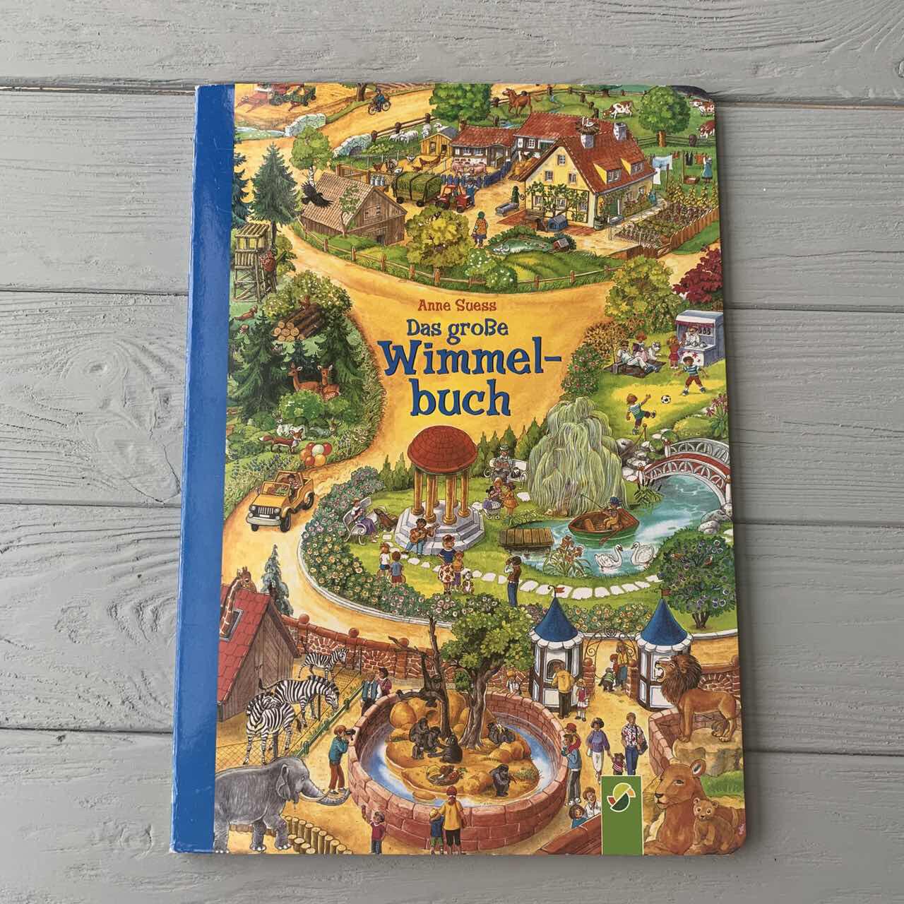 Красочный набор книг Мой большой Виммельбух в коробке, 3 шт, Анна Сьюз