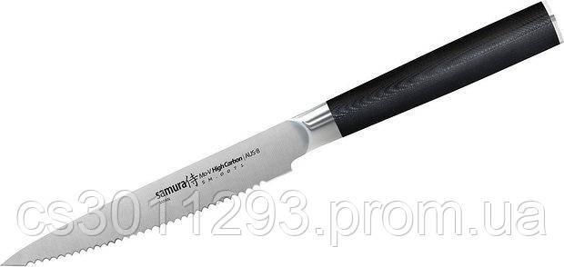 Кухонный нож Samura Mo-V слайсер 230 мм Black (SM-0045), фото 2