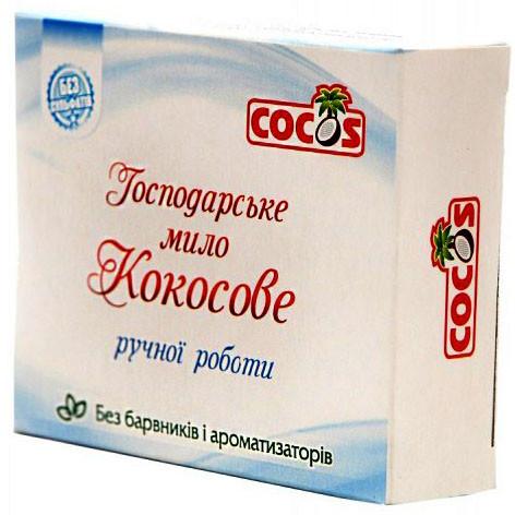 Господарське мило Cocos з кокосової олії ручної роботи 100 г