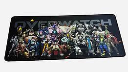 Игровой коврик для мышки Overwatch HQ (Размер: 700мм x 300мм x 3мм)