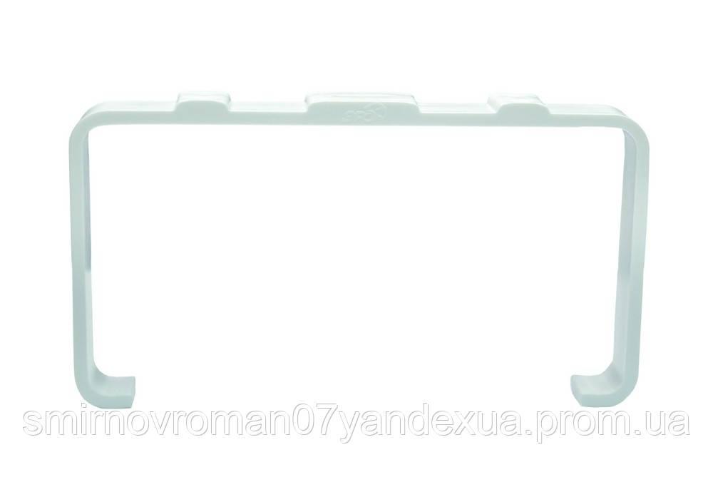 Держатель плоских каналов, плась., 60х120мм / 60-197, 60х204 мм (620ДКП)
