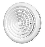 Диффузор круглий потолочный с фланцем, d=100мм / 60-110, d 100 мм (10ДК)