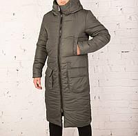 Мужское зимнее пальто с капюшоном!