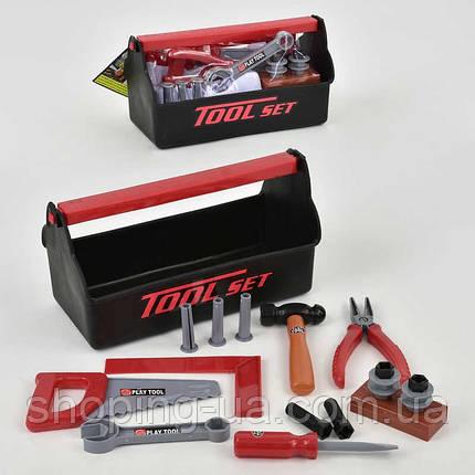 Набор детских инструментов в чемодане Т115А, фото 2