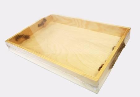 Поднос деревянный 27х40х4см