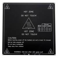 Нагревательный стол алюминиевый MK3 12/24В 214х214мм