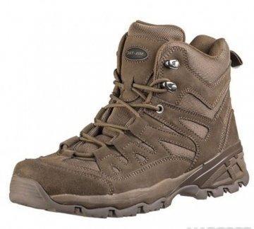 Тактические ботинки MilTec Trooper 5 Brown 12824009 размеры: 39-46