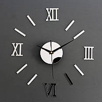 Прикольные часы на стену Серебристые  0368964, фото 1