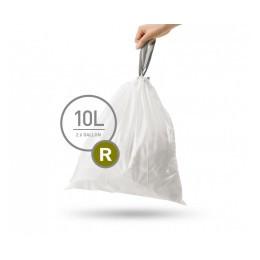 Мішки для сміття щільні з зав'язками 10л simplehuman