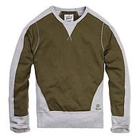 Кофта Brandit Liam Sweatshirt Rip XXL Хаки с серым, КОД: 275128