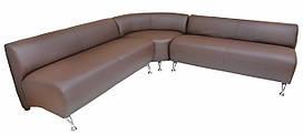 Florida Richman угловой комплект дивана в кожзаме
