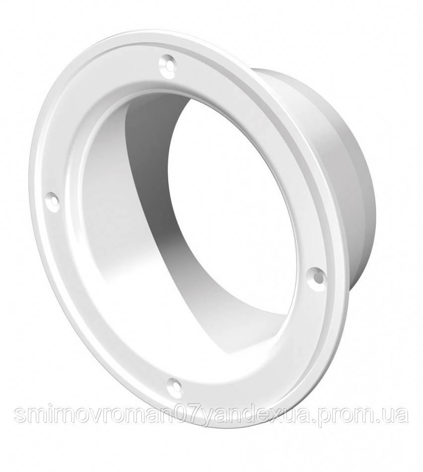 Фланец пластиковый, d=100мм / 60-401, d 100 мм (10Ф)