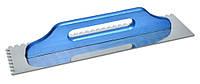 Гладилка швейцарская 130х480мм, зубчатая 8х8мм / 08-251, 130х480мм, зуб 8х8мм