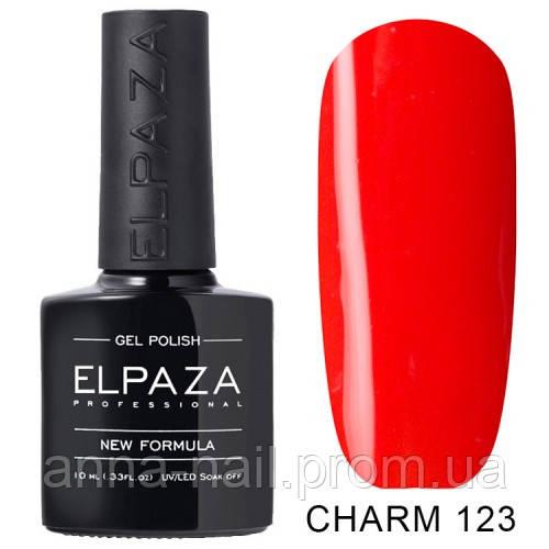 Гель лак ELPAZA CHARM 123 Красное пламя 10 мл