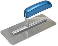 Гладилка стальная для венецианскойштукатурки 90х200мм / 08-165, 90х200 мм