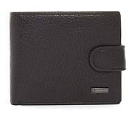 Мужской стильный классический прочный кошелек бумажник FUERDANNIart. 4355 темно коричневый, фото 1