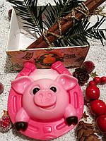 """""""Свинка розовая"""" натуральное подарочное мыло ручной работы"""
