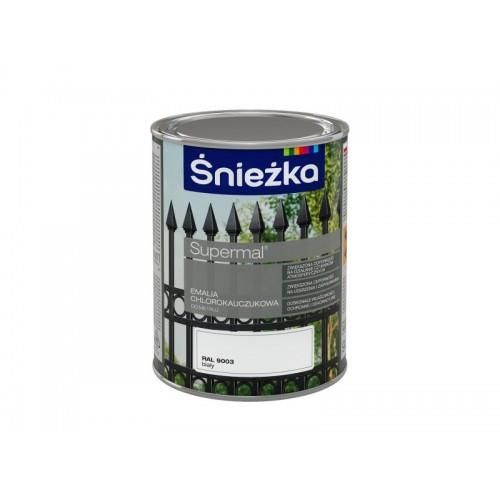 Фарба для металу Емаль Хлоркаучукова Снежка  СИНЯ (RAL5005) 1л