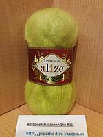 Мохеровая пряжа (62%- кид мохер, 38%- полиамид, 50 г/ 500 м) Alize Kid Royal 109