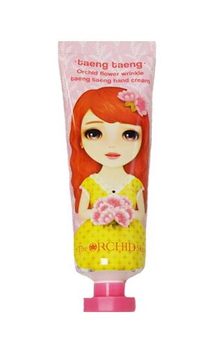 Антивозрастной крем для рук с экстрактом орхидеи The Orchid Skin Wrinkle Taeng Taeng Hand Cream 60 мл