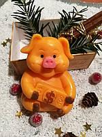 """""""Свинка"""" натуральное подарочное мыло ручной работы"""