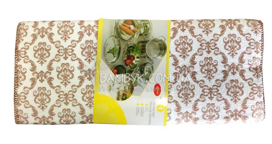 Коврик для сушки посуды  30х30 микрофибра