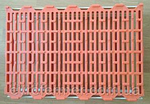 Пластиковая-щелевая решетка оранжевая