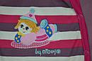 Комбинезон/человечек хлопковый Цирк розовый (Nicol, Польша), фото 3