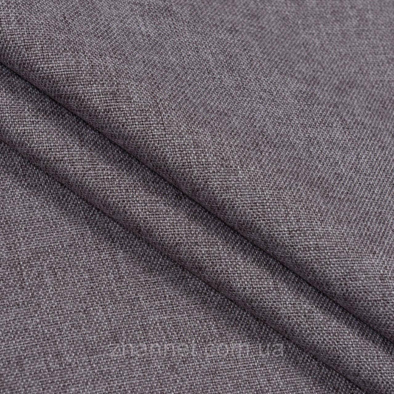 Тканина Блекаут рогожка сизий 280 см (307821)